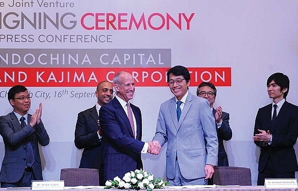 indochina capital teams up with kajima corporation