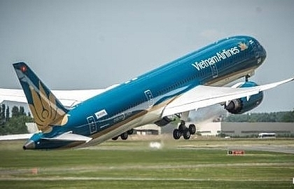Vietnam Airlines operates Taiwan-CanTho flights