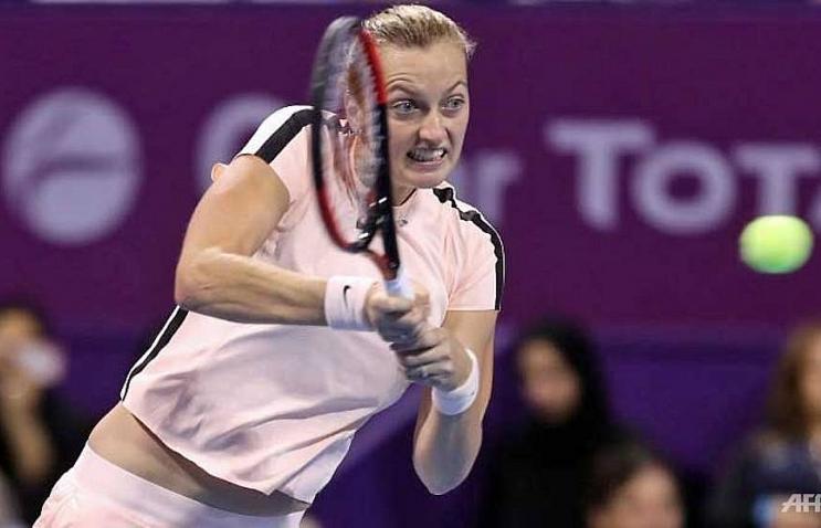 Kvitova takes Qatar title and heads back into top 10