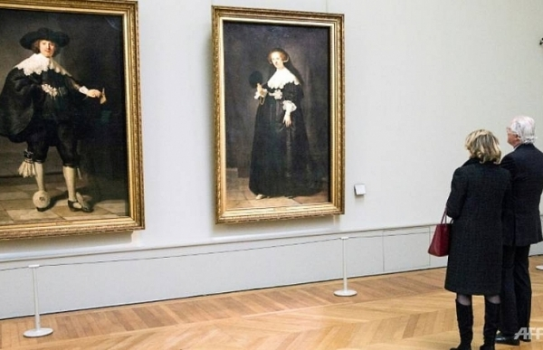 french dutch teams unveil two newly restored rembrandts