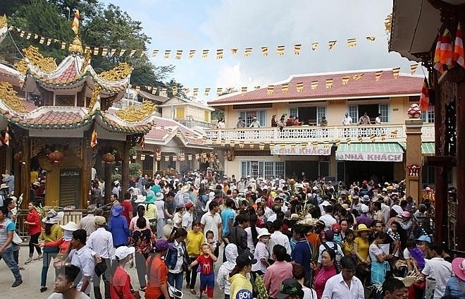 Bà Đen Mountain Spring Festival opens