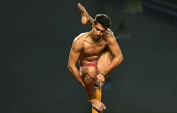 India hosts first 'yoga on a pole' world championships