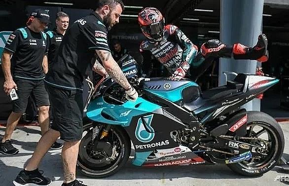 Quartararo takes lead in Malaysia MotoGP first day test