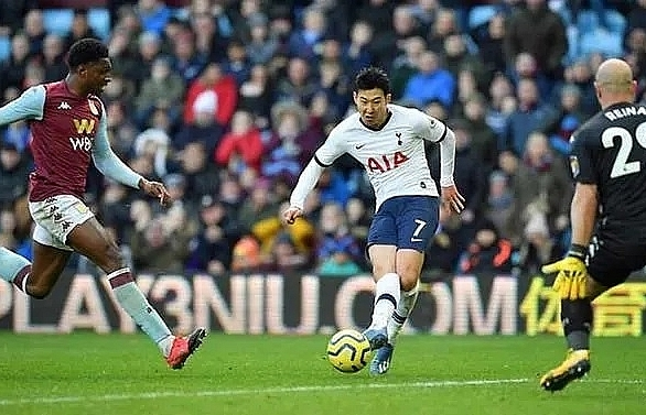 Man City ban opens the door for Spurs as Son strikes late winner at Villa