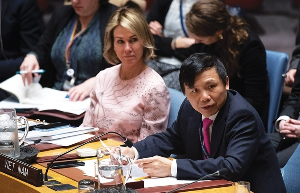 vietnam displays its spirit in lead un security council role
