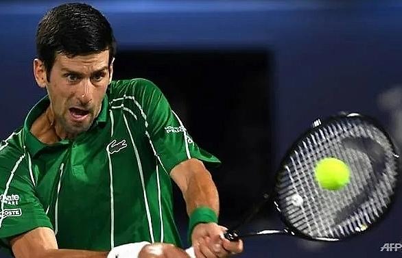 Djokovic continues hot streak to cruise into second round in Dubai