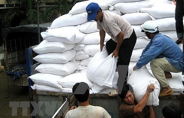 Over 1,127 tonnes of rice aid heading to Quang Binh for Tet