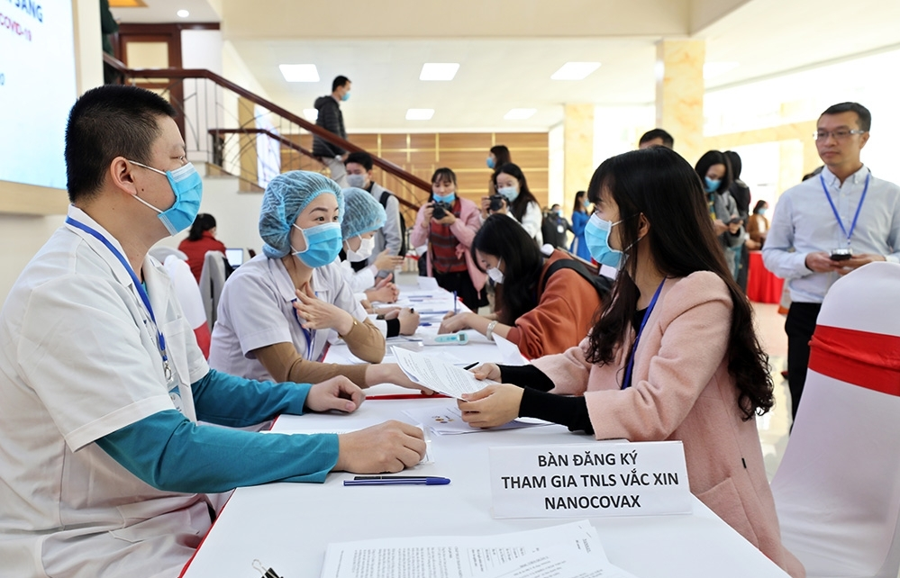 First Vietnamese COVID-19 vaccine Nano Covax enters second phase of human trials