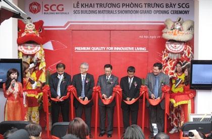 SCG opens first building materials showroom in Vietnam