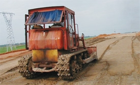 Resettlement areas slow down highway project