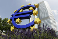 ECB on hold as debt storms calm