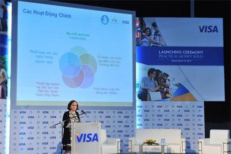 visa brings practical money skills to vietnam
