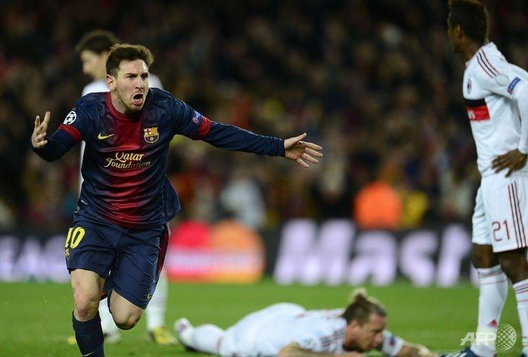 Magical Messi sends Barca into quarter-finals