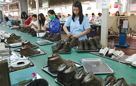Local footwear steps to EU