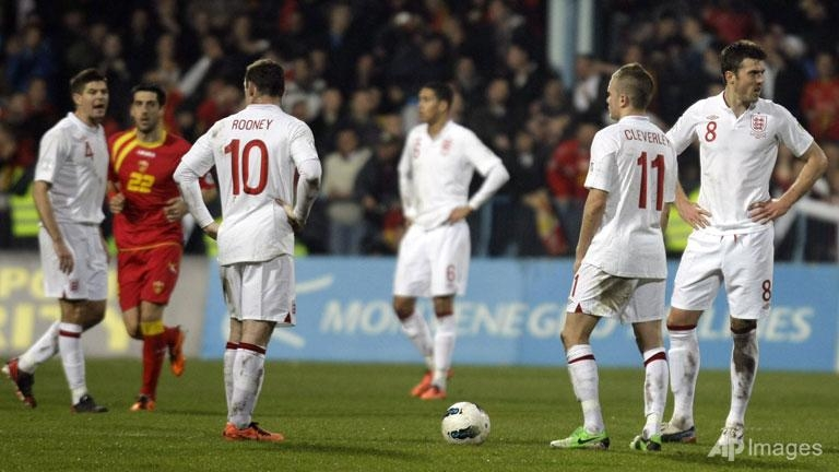 montenegro peg england back to preserve lead
