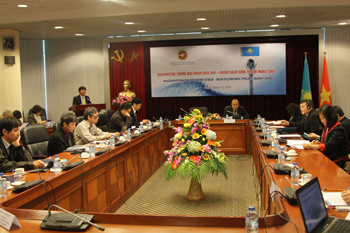 promoting vietnamese kazakh cooperation