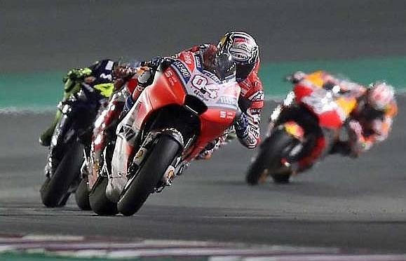 Dovizioso edges out Marquez in Qatar MotoGP thriller
