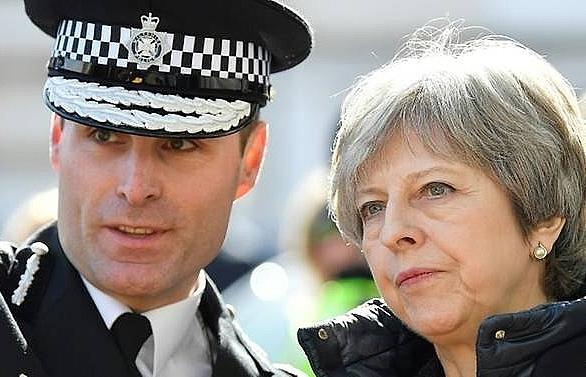 British PM seeks EU backing on spy attack