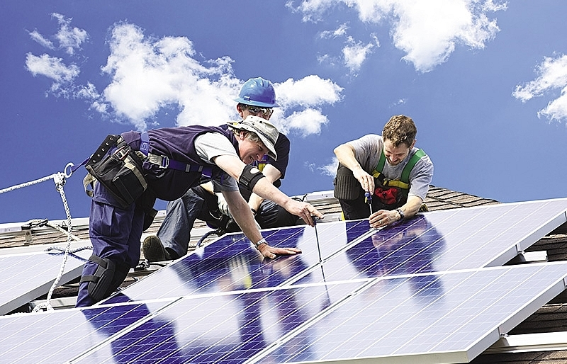 Race hots up over solar panel manufacturers