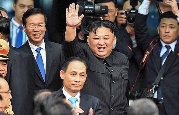 North Korea's Kim arrives home after Trump summit