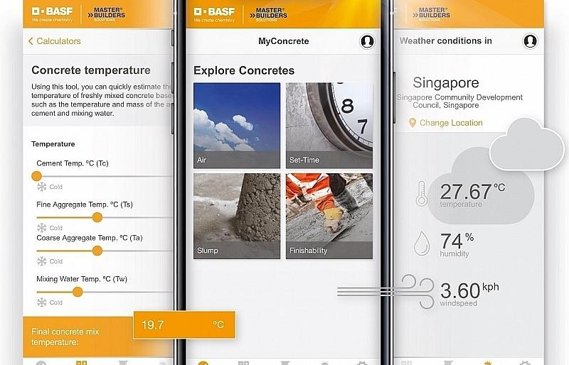BASF launches MyConcrete app in Asia-Pacific