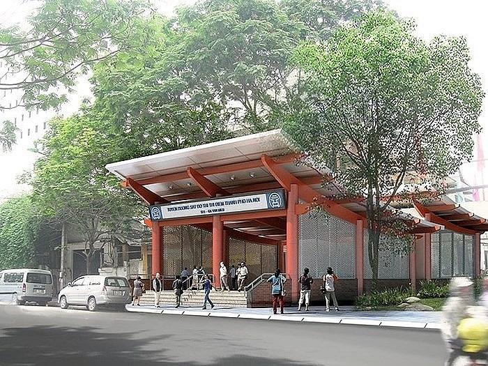 hanois tran hung dao street to be narrowed for urban railway station