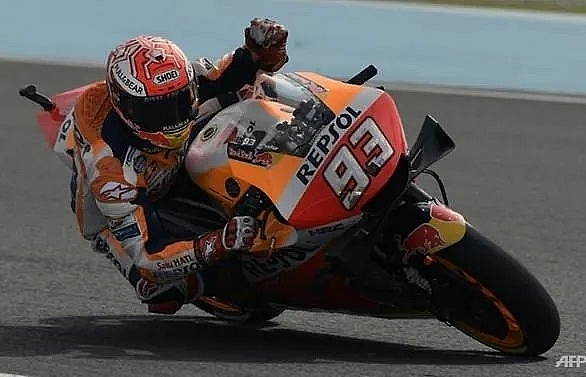 Marquez storms to 53rd career pole in Argentina, worries over rain
