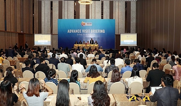 officials inspect preparations for asean summits in da nang