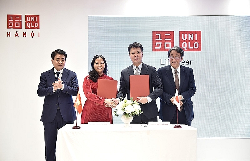 UNIQLO opens first store  in the capital of Hanoi