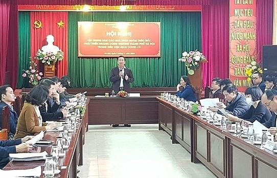 Hanoi vows to accompany firms through COVID-19 crisis