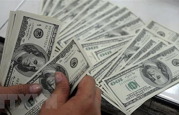 Reference exchange rate up 5 VND on March 18