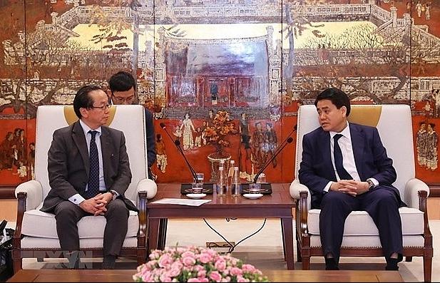 Hanoi, JICA work to accelerate ODA projects