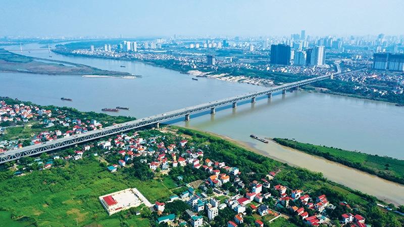 real estate prices in hanoi suburbs trending upwards