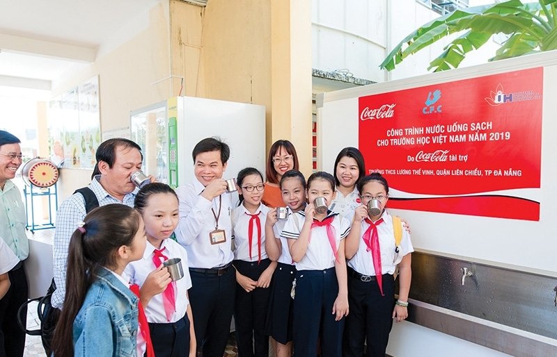 Coca-Cola's commitment to inspire protection of water