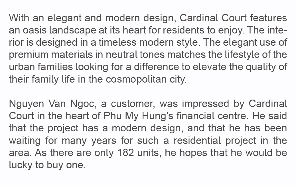 vibrant central business districts phu my hung the 2nd central business districts of ho chi minh city