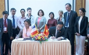 thua thien hue and poitou charentes region enhance cooperation