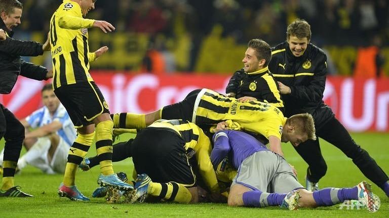 Last-gasp Dortmund snatch semi-final place