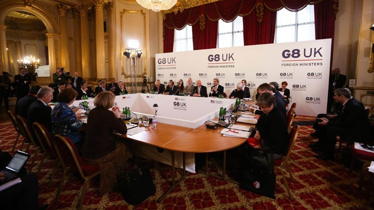 G8 ministers condemn North Korea in strongest terms