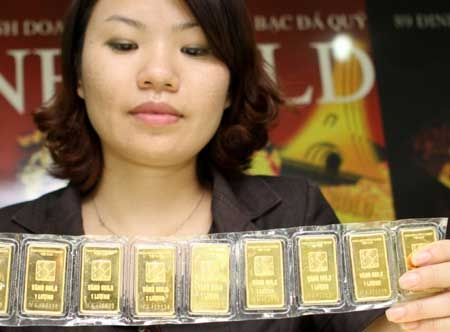 SBV to auction gold until gap narrows