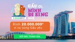 GoBear Vietnam gives 2-people Singapore tour to lucky website user