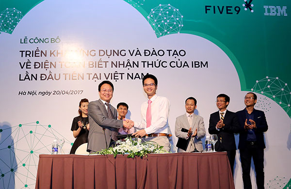 ibm and five9 join forces to promote cognitive computing in vietnam