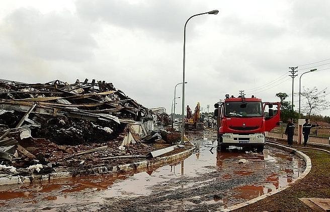Texhong Yinlong factory halts operations after fire