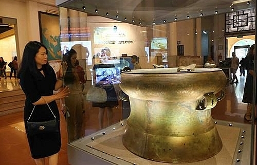 vietnams archaeological treasures on display in hanoi