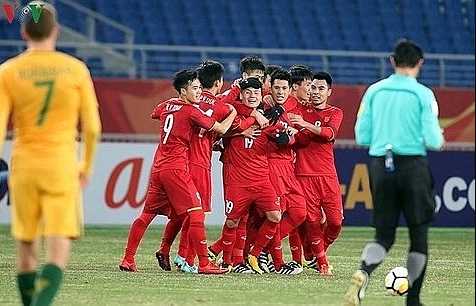 Vietnam men's team climbs to 103rd place in FIFA world rankings