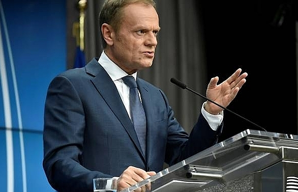 No Brexit deal without Ireland solution: EU's Tusk
