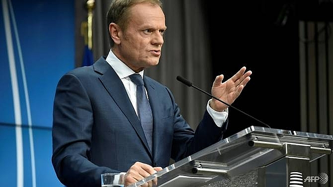 no brexit deal without ireland solution eus tusk