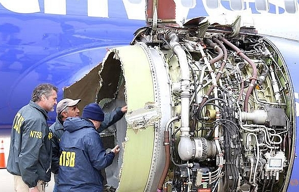 US, Europe order emergency checks on engine type in Southwest accident