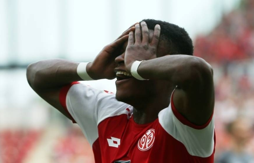 keita shown fourth red card of season as mainz stun leipzig