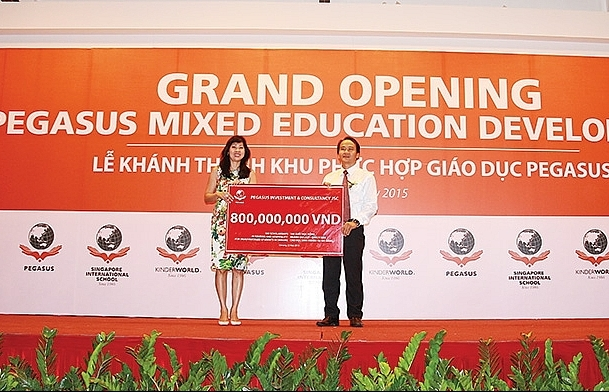 KinderWorld nurturing young Vietnamese people