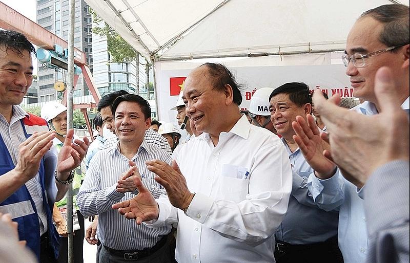 PM calls for progress on metro line